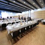 Déjeuner du Congrés des Maires de Haute-Savoie dans le Solaret, 650 personnes