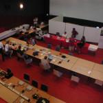 Bureau des télécommunications lors du TOUR DE France 2013, dans le Farto