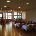 """Déjeuner """"rapide"""" dans les Soli lors d'un séminaire, 230 personnes."""