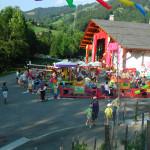 """Esplanade de l'Espace Grand-Bo durant le festival """"Au bonheur des Mômes"""""""
